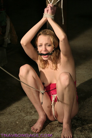 Beautiful Girls in Rough Bondage